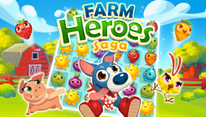 farm heroes saga - games like candy crush